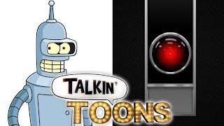 John DiMaggio Does Bender as HAL 9000 in 2001: A Space Odyssey! (Talkin