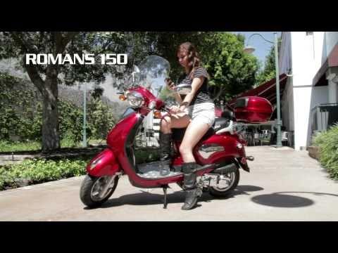 ROMANS 150CC/50cc Motor Scooter