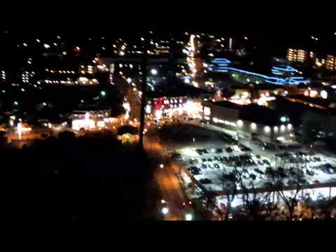 Gatlinburg Sky Lift-Christmas Lights.