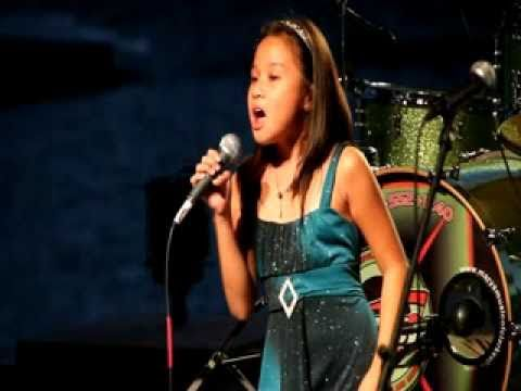My Heart Will Go On - Celine Dion  Titanic live cover by 9 yo...