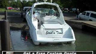 Launching your boat with a Loadmaster Trailer