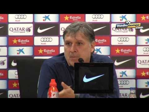 Gerardo Martino defendió a Pep Guardiola