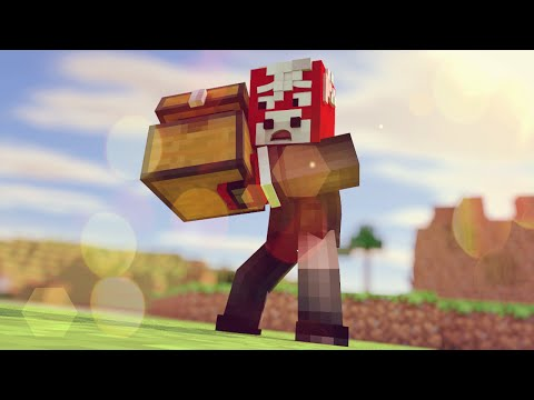 Minecraft Hunger Games Challenge ONE CHEST 18