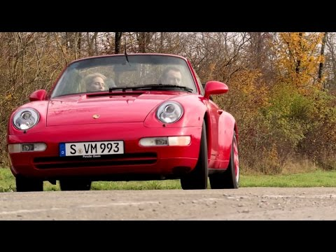 Porsche 964 with Classic Navigation Radio