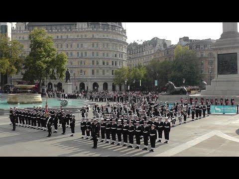 Sea Cadets National Trafalgar Parade 2015