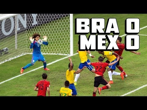 Ochoa's AMAZING Save Helps Mexico Draw Brazil [Mexico vs. Brazil Recap]