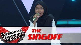 "Download Lagu Sharla ""New Rules"" | Sing Off | The Voice Kids Indonesia Season 2 GTV Gratis STAFABAND"