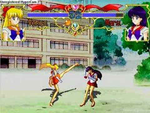 Sailor Venus vs Sailor Mars