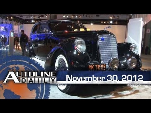 Lincoln Goes Retro to Show Off Luxury Cred - Autoline Daily 1024