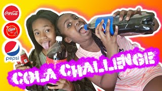 Sasha T's World - Cola Challenge