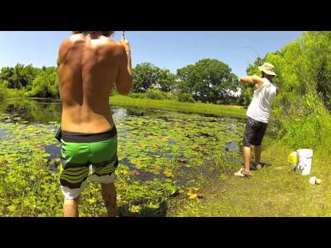 Largemouth bass fishing in New Jersey 2012!
