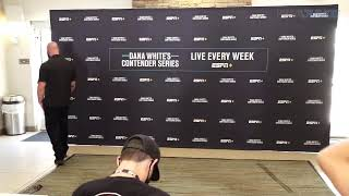 Dana White's Contender Series 28 official weighin