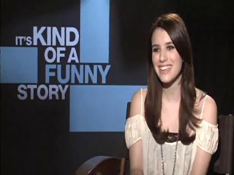 Jim Ferguson Interviews Emma Roberts for Its Kind of a Funny Story