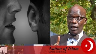 Video: 7 Billion people can eat today. Only the 'Evil' Devil spews lies of overpopulation, hunger, poverty and housing shortage - Leo Muhammad (NOI)
