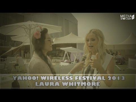 Yahoo Wireless Festival 2013 - Laura Whitmore Interview (@thewhitmore): Media Spotlight UK