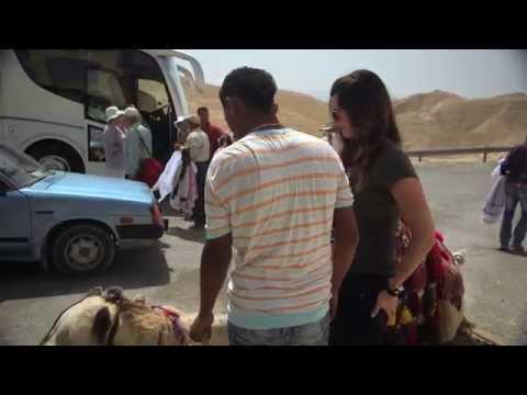 Cissie Rides a Camel