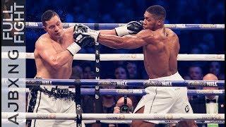 Full Fight   Anthony Joshua Vs Joseph Parker UD