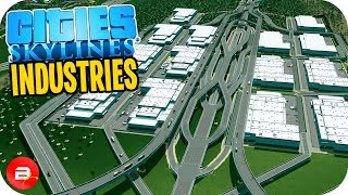 Cities: Skylines Industries - HUGE Warehouse Exchange!! #36 (Industries DLC)