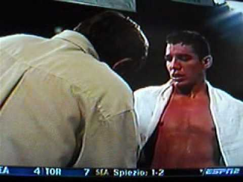Clips of Rocky Smith Jr Boxing Anwar Oshana on ESPN 2