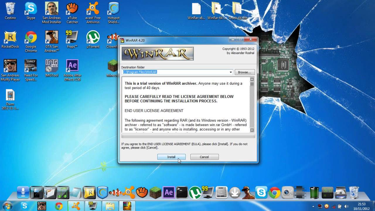 Winrar 64 Bit Crack Windows 7