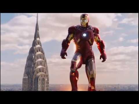 А у нас есть ХАЛК. Новый костюм железного человека  MARK-7 \ Мстители ,2012