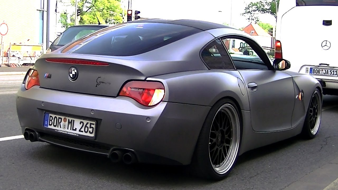 Matte Bmw Z4m W Custom Exhaust 1080p Hd Youtube
