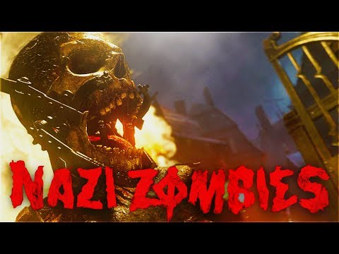 """Call of Duty  WW2 """"NAZI ZOMBIES"""" GAMEPLAY REVEAL - TRAILER BREAKDOWN! and REACTION WWII NAZI ZOMBIES"""