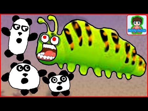 3 панды 2часть 3 pandas игра как мультик для детей от фаника