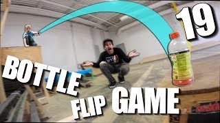 CRAZY GAME of BOTTLE FLIP!| Ryden Schrock vs Ryan Bracken | Round 19