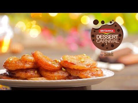 Apple Jalebi Recipe | How To Make Apple Jalebi | Britannia Dessert Carnival