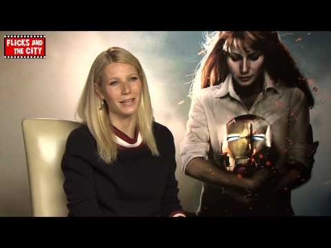 Gwyneth Paltrow Interview - Iron Man 3 Pepper Potts