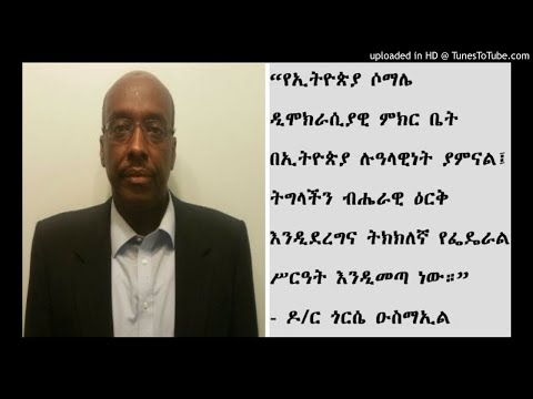 Interview With Dr Gorse Ismail - SBS Amharic