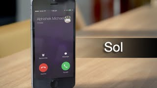 Sol provides an easier way of silencing incoming calls and alarms