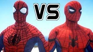 ULTIMATE SPIDERMAN VS SPIDER-MAN (CIVIL WAR)