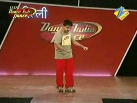 Abhi At Dance India Dance Final Audition video