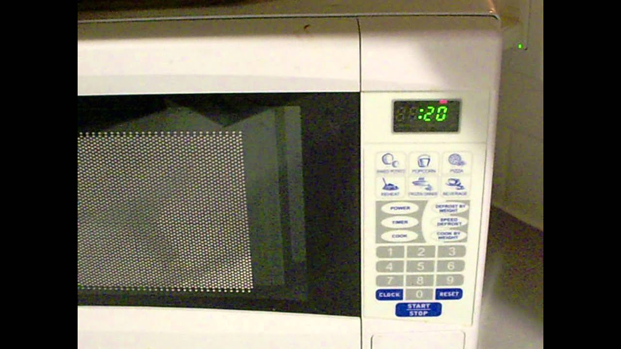 the final countdown microwave