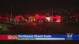 Police Investigating Drive-By Shooting, 2 People Hospitalized