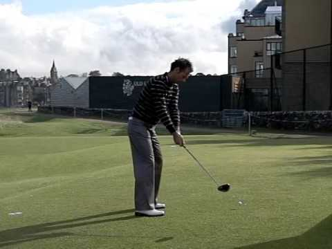 NICK DOUGHERTY SLOW MOTION 17TH ST ANDREWS DUNHILL LINKS 300909