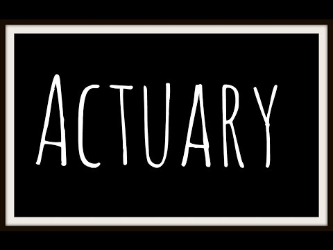 This video is dedicated to all the wanna-be actuaries out there! In this video, I try to take you through a high-level explanation of the process involved in...