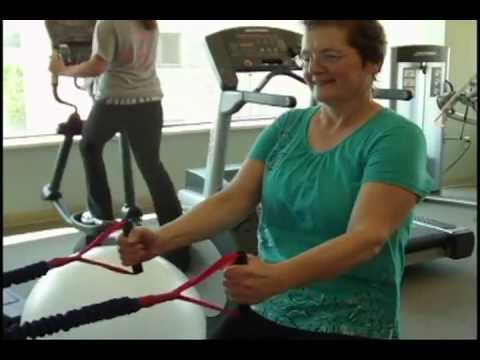 Exercise Helps Woman Recover after Breast Cancer
