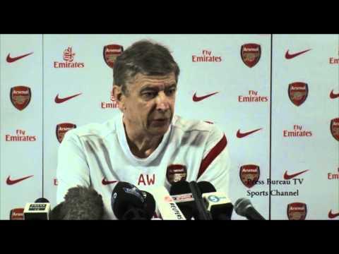 Arsenal vs Manchester United - Pre Match Press Conference
