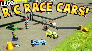 RACING LEGO RC CARS! - Brick Rigs Gameplay - HOT WHEELS R/C RACING AND CRASHING! - User Creations