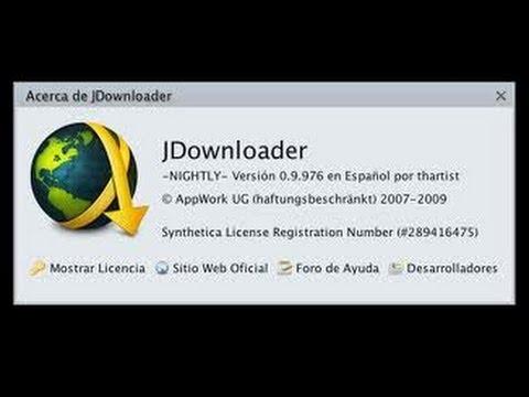 Jdownloader modo NIGTHLY Descargas mas rapidas Gestor de Descargas Directas