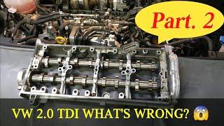 VW SHARAN 2.0TDI PROBLEM ENGINE SILNIK part. 2