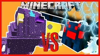 Minecraft - URSA MAJOR OF THE MYTHICAL CREATURES VS SPIDERZILLA KING OF THE MUCH MORE SPIDERS MOD