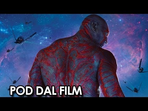Guardiani della Galassia Pod dal film 'Gli Anti-Eroi' (2014) - Chris Pratt, Zoe Saldana Movie HD