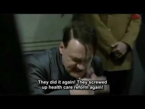 Hitler finds out about Scott Brown winning over Martha Coakley.