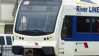 NJ Transit 2004 Stadler Rail Group Low Floor DMU Two-Car Train on the RiverLine at WRTC