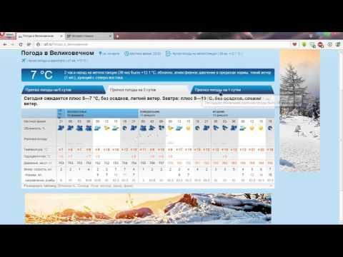 Сайт   rp5 ru   Погода