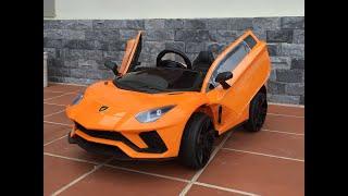 Hướng dẫn lắp ráp xe ô tô trẻ em Lamboghini LT998 - mykidsvn.com
